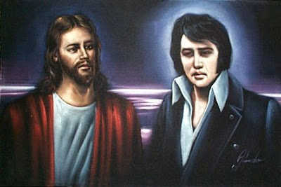 The Tijuana Velvet Paintings, Velvet Paintings of Elvis items in