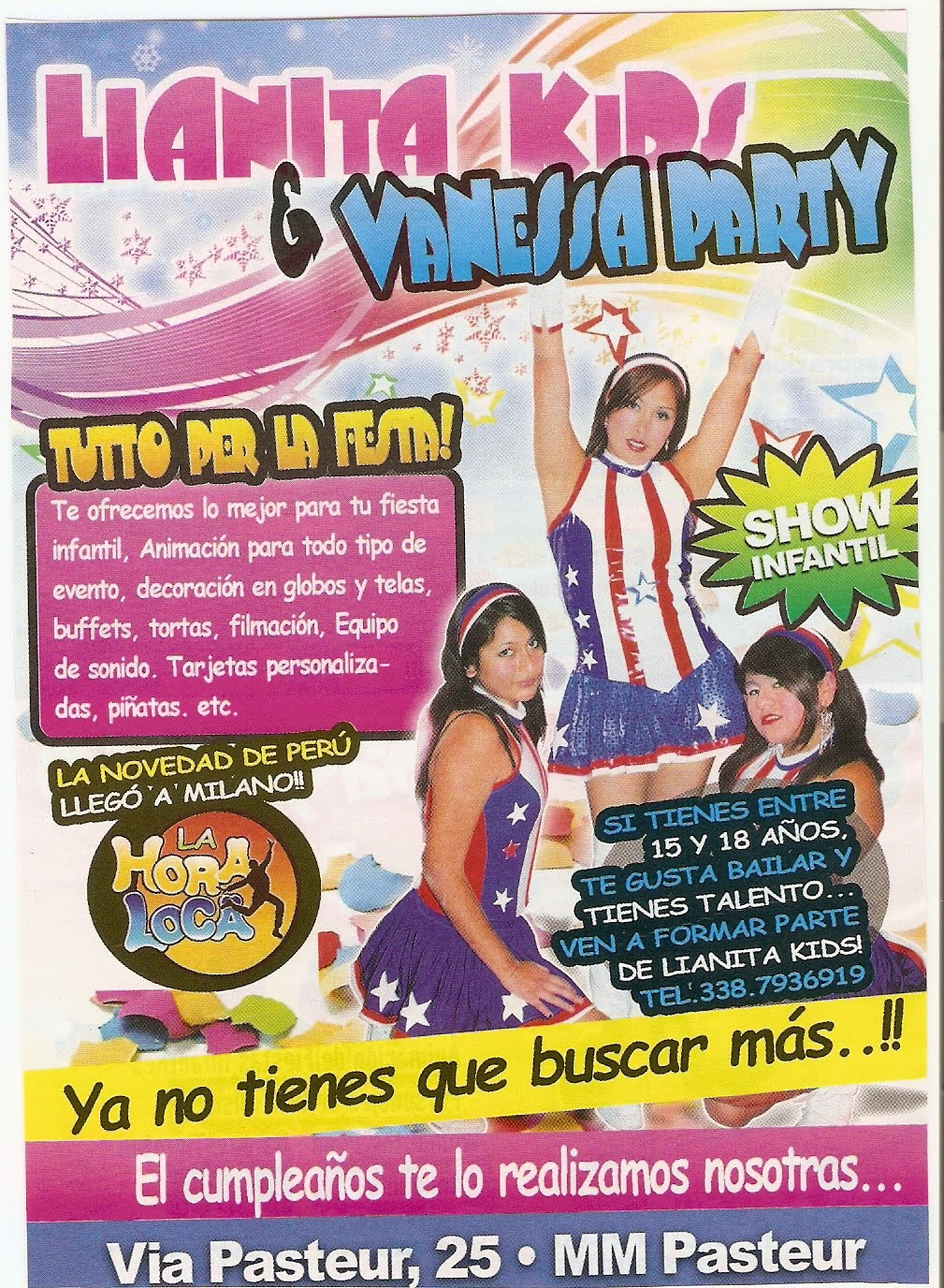 Vanessa Party Nuestros Patners