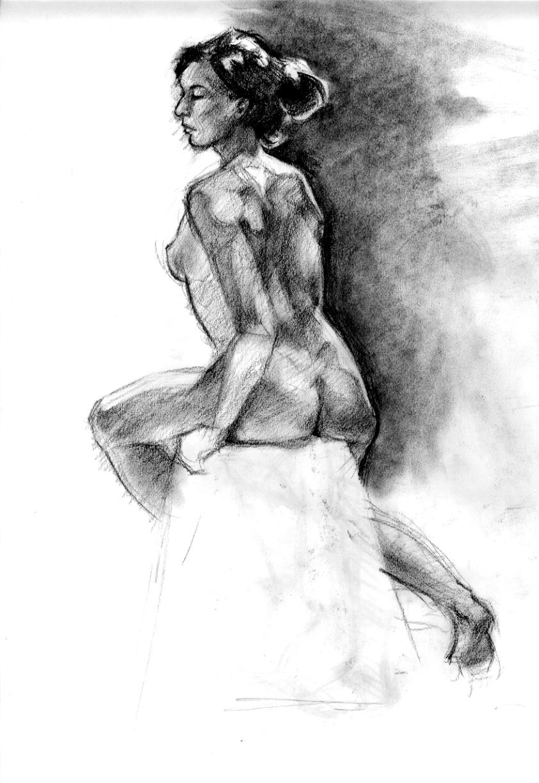 Sleeping Nude Angel By Grumpy Owl Digital Art Drawings Paintings