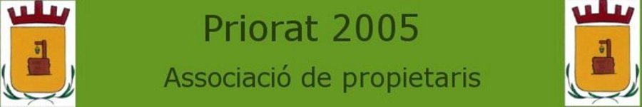 Priorat 2005 Associació de Propietaris