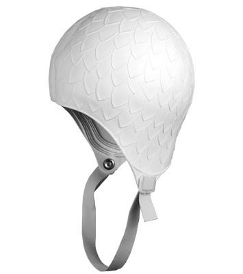 retro swim cap with chin strap, Creative Sunwear