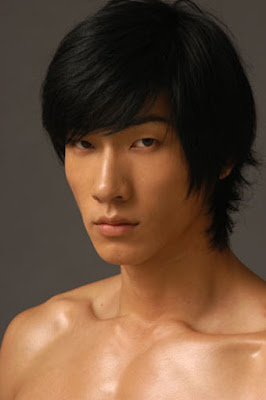zhang liang chinese male model