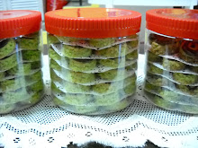 Pandan Oats cookies
