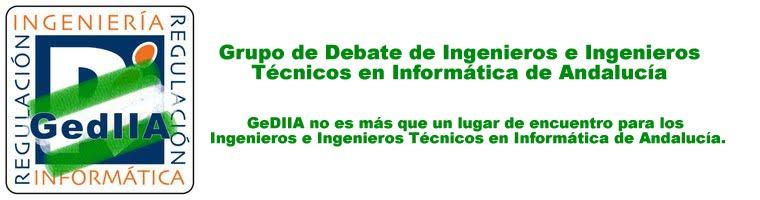 Grupo debate Ingenieros Informaticos de Andalucia