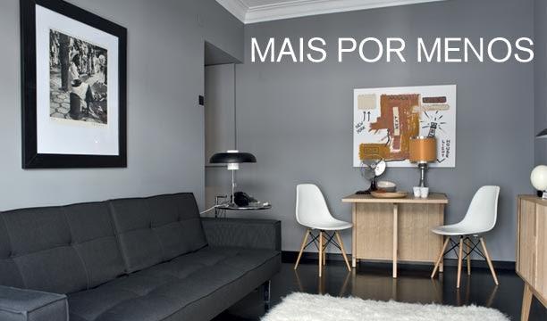 Ideias de decora o como decorar um apartamento pequeno for Sala de 9 metros quadrados