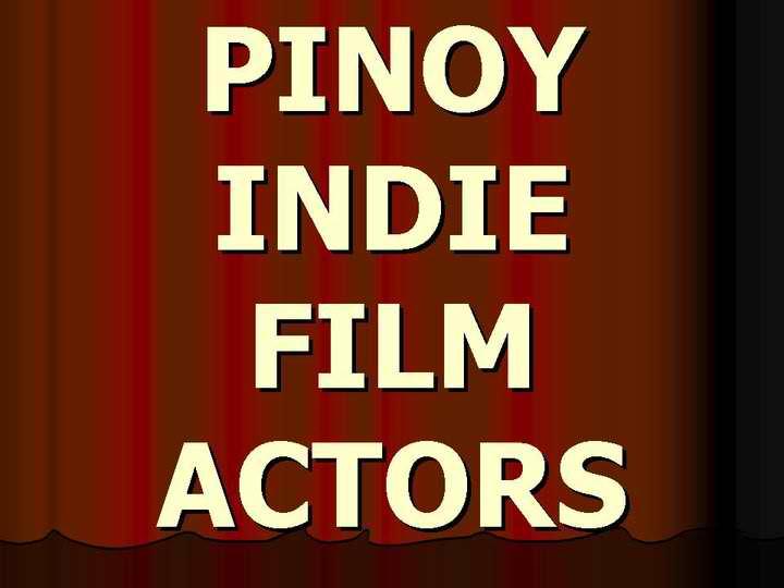 Pinoy Indie Film