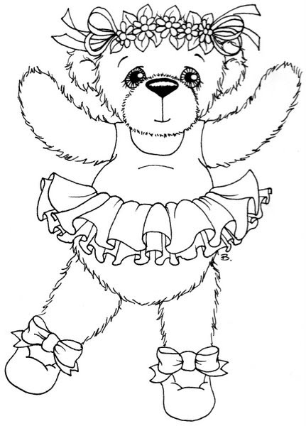 Beccy 39 s Place Ballerina Bear