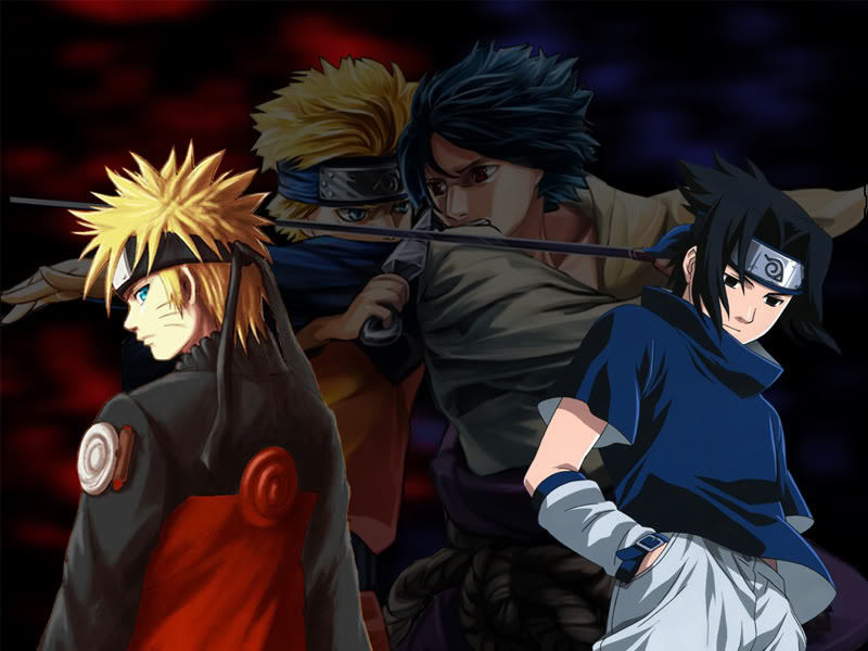 wallpaper naruto vs sasuke. Naruto and Sasuke Naruto
