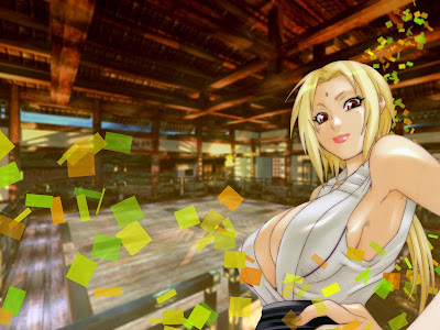 Bleach And Cars Lady Tsunade Hokage Wallpaper