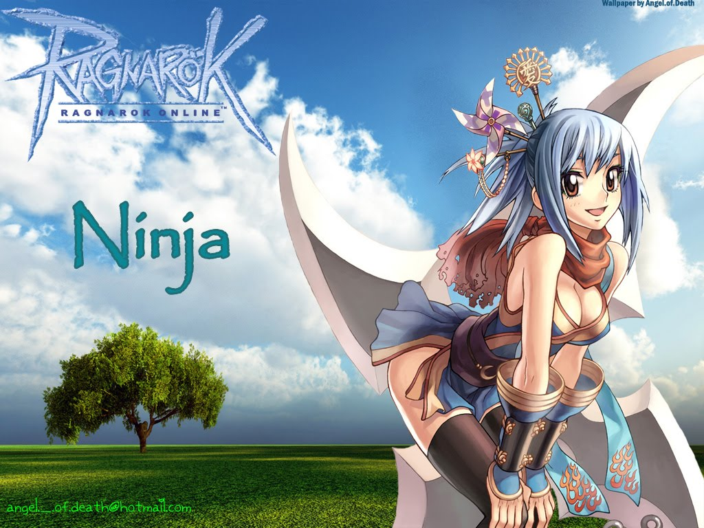 Anime ninja girl