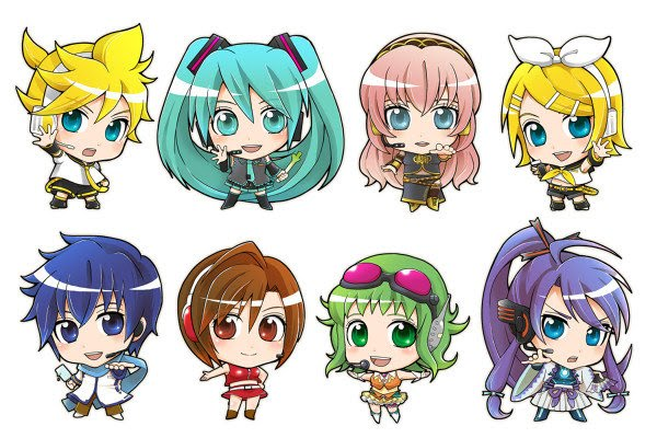 Bleach And Cars Chibi Vocaloid Wallpapers