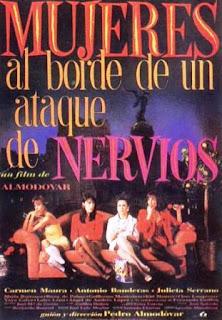 Mujeres al borde de un ataque de nervios (1988).Mujeres al borde de un ataque de nervios (1988).