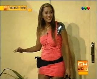 GH 2011: Rocío Gancedo la primer eliminada de la casa de Gran Hermano 2011.abandonar, casa, eliminada, eliminado, GH 2011, Gran Hermano 2011, irse, Rocío Gancedo, salir