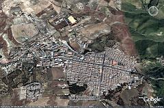 Villarosa dal satellite