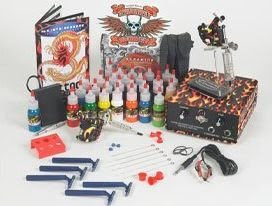 Flame Tattoo Kit