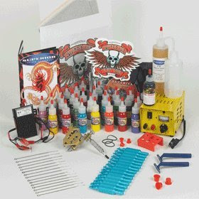 Supreme Tattoo Collector's Kit