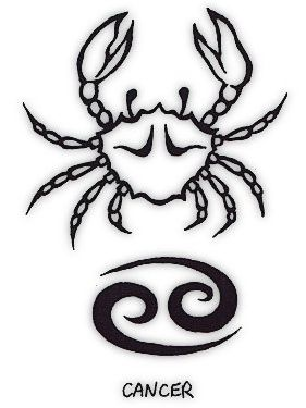cancer tattoo symbol