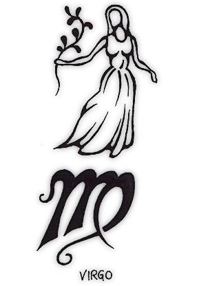 Virgo Tattoo Symbol