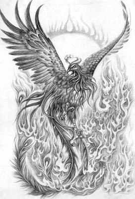 tattoo picture of a phoenix