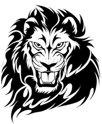 Lion Tattoos - Tribal Designs. http://3.bp.blogspot.com/_DMsvL7sD9Pw/SN_ub7K