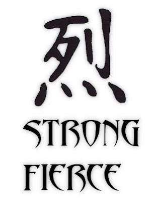 Kanji Strong Tattoo Symbols