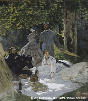 le djeuner sur l'herbe de Monet