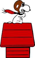Snoopy pilote
