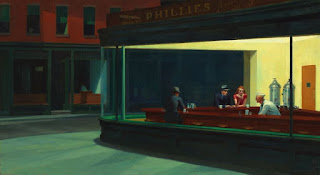 Nighthawks Edward Hopper.