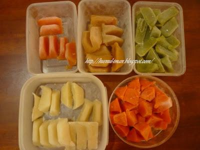 {focus_keyword} Makanan Bayi :Penyediaan Bubur Nasi dari Frozen Solid Food P1010832a