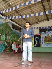 Recital con el poeta Jesús Gabriel Alvarado