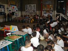 Liceo Prof. Luis Alfonso Pino recibe a la Asociación Museo de Ciudad Delgado en la Feria de Logros