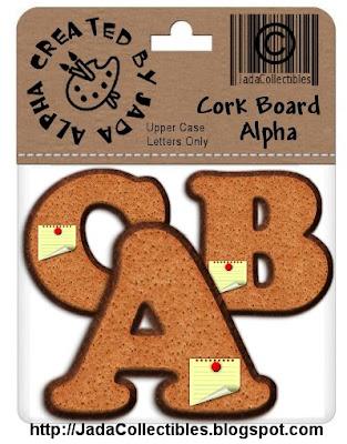 http://jadacollectibles.blogspot.com/2009/06/cork-board-alpha-freebie.html