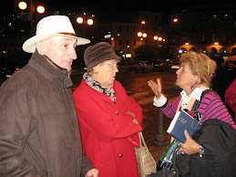 La Direttrice con due Soci Sanremesi.. i Cappellini e Ketti!