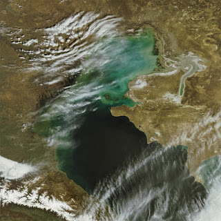 The Largest Lake in the World Caspian Sea