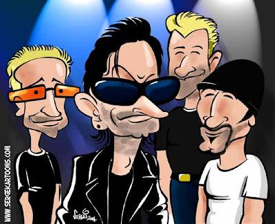 caricaturas de celebridades