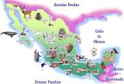 TERCER ENTRADA mapa de mexico