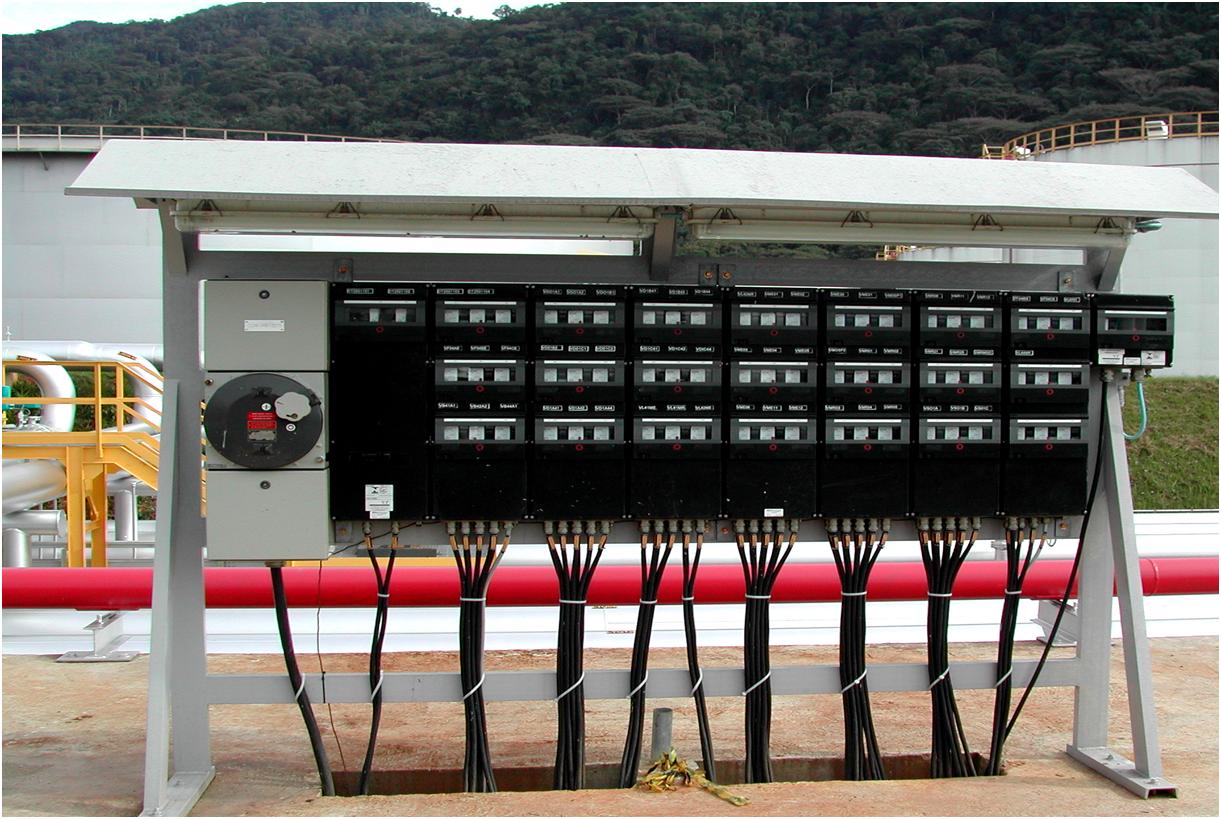 Painel Ex de IIC T6 - EPL Gb: Distribuição de circuitos de força em Terminal Petroquímico.