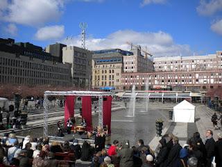 Taiko in Kungsträdgården