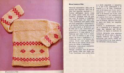 receita casaquinho bebe trico