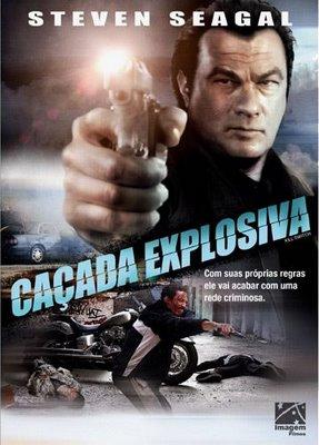 Filme Poster Caçada Explosiva DVDRip XviD & RMVB Dublado