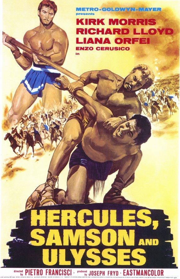 Hércules, Sansão e Ulisses
