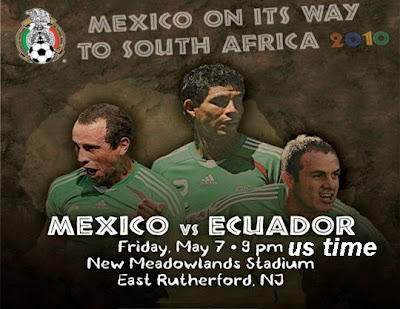 Mexico vs Ecuador 2010