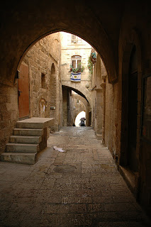 Old Jewish Quarter in Jerusalem