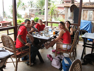 Israeli Tourists in Goa