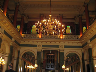 Lobby of the Thistle Victoria in London