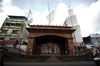 Durga Puja Pandal in Kolkata
