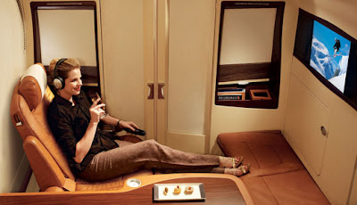 Singapore Airlines First Class Suite on the A380