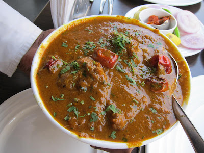 Chicken Kolhapuri at Cafe Boulevard Pune