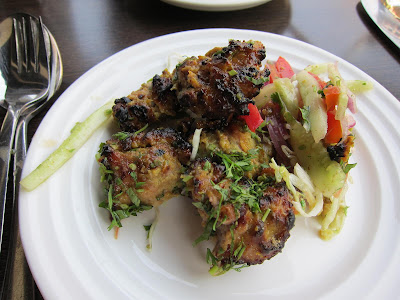 Boti Kababs at Cafe Boulevard Pune