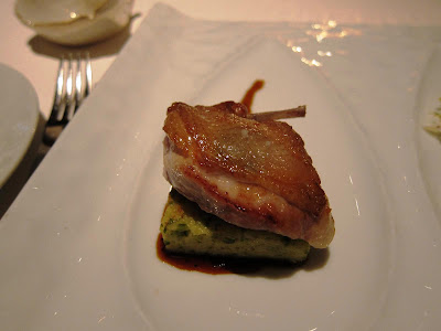 Quail Trio at Michael Mina: Breast
